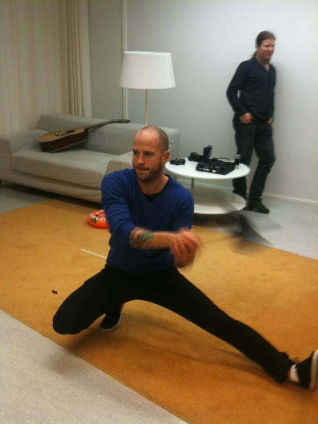 Samuli Sulkko testing Kung Fu High Impact