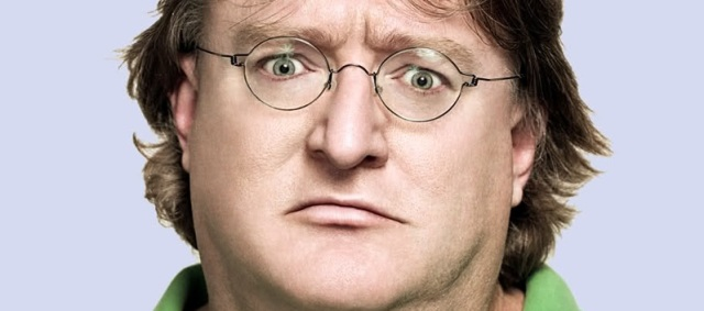 Gabe Newell frowns upon Windows 8